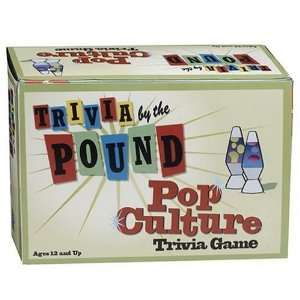 Trivia by the Pound Subject Pop Culture Toys & Games