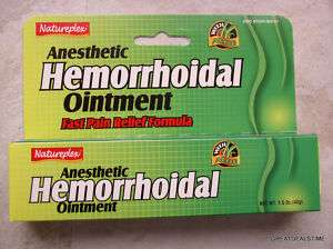 HEMORRHOID Hemorrhoidal Ointment Pain Relief Cream new