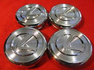 . 2001 2008 Lexus GS430 RX330 RX400h Wheel Hub Center Cap SET