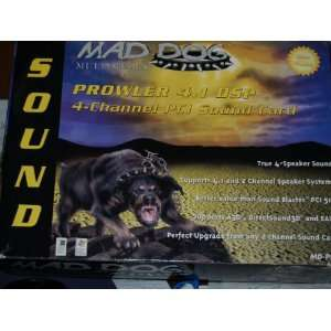 Mad Dog PROWLER 4.1 DSP   Sound card   PCI