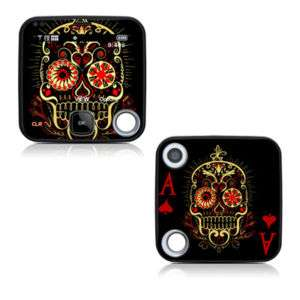 Nokia Twist 7705 Skin Cover Case Decal Poker Skulls