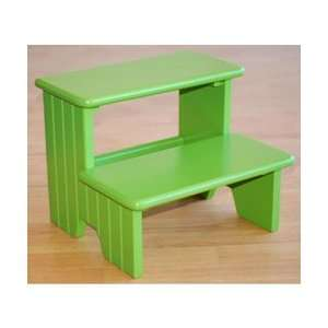 Carved Lines Step Stool   Color Green Toys & Games