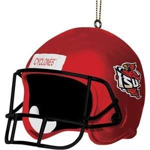 Iowa State Cyclones NCAA Helmet Tree Ornament Sports