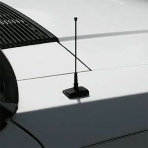 1979 2009 Ford Mustang Black 6 Billet Shorty Antenna