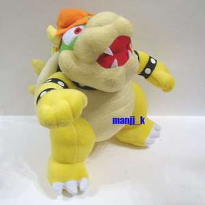 NEW Super Mario Plush Doll Figure 23cm Bowser