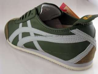 Asics Onitsuka Tiger Mexico 66 green grey yellow shoes