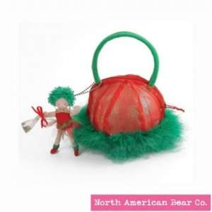 Pixie Purse Green by North American Bear Co. (3098) Toys