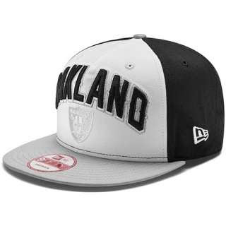 Mens New Era Oakland Raiders Draft 9FIFTY® Structured Snapback