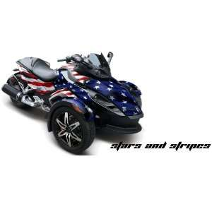 AMR Racing Fits Can Am BRP Spyder Graphic Decal Wrap Kit