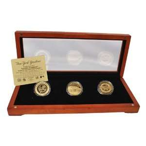 New York Yankees 24KT Gold Commemorative Coin Set
