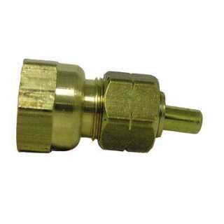 Watts Ander Lign 3/8 In. Brass Compression X FPT Coupling With Insert