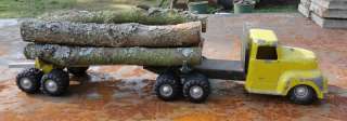 All American Timber Toter Log Toy Truck Survivor Made in Oregon 1950s