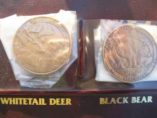 NORTH AMERICAN HUNTING CLUB BIG GAME COLLECTORS COINS