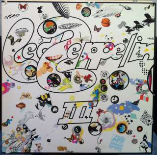 LED ZEPPELIN iii 3 LP VG+ SD 19128 Vinyl 1970 Record Spinning Wheel