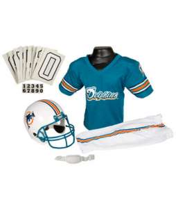 MIA Dolphins Costume & Helmet Costume  Kids NFL Football Player