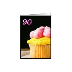 Happy 90th Birthday Muffin Card Toys & Games