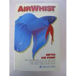 AirWhist Aquarium Air Pump, Ultra Quiet AW700