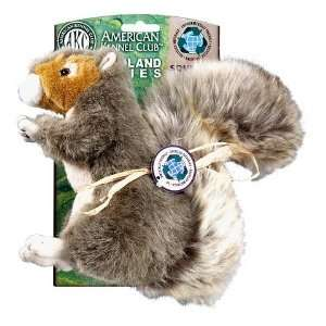 AKC Green Planet Squirrel Small Dog Toy