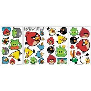 Wallcoverings Angry Birds Removable Wall Decorations