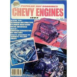 Popular Hot Roddings Chevy Engines   1984