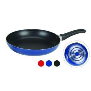 12 Non Stick Cast Aluminum Fry Pan in Blue  Kitchen