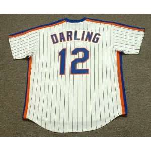 New York Mets 1986 Majestic Cooperstown Throwback Home Baseball Jersey