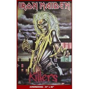 IRON MAIDEN Killers 24x36 Poster