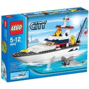 LEGO City Fishing Boat Toys & Games