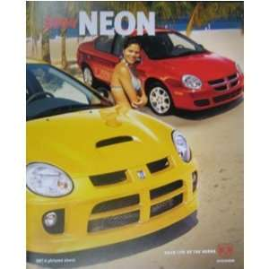 2004 DODGE NEON Sales Brochure Literature Book Automotive