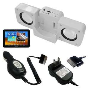 Speaker Fold up Docking Station For Samsung Galaxy Tab 8.9 P7310