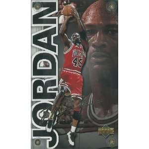 Michael Jordan unsigned Chicago Bulls 24 Karat Gold