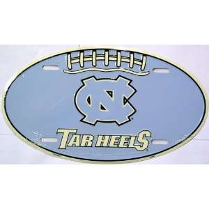 of North Carolina Oval NCAA Tin License Plate