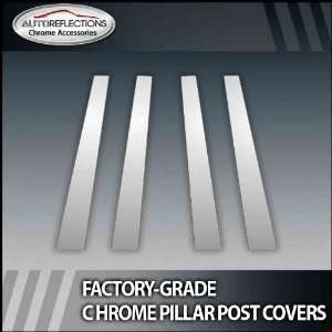 08 12 Nissan Rogue 4Pc Chrome Pillar Post Covers