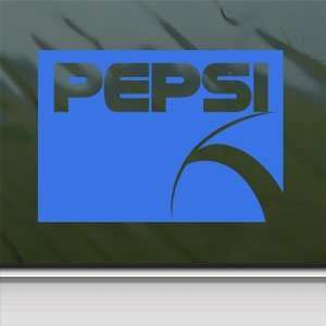 Pepsi Blue Decal Car Truck Bumper Window Vinyl Blue