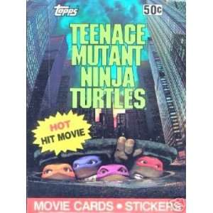 Mutant Ninja Turtles Movie Trading Cards Box  36 Count Toys & Games