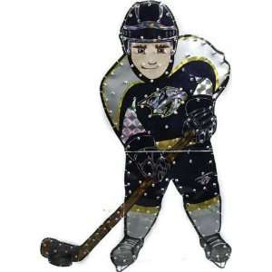 NHL Nashville Predators Lighted Hockey Player Car Window Decoration