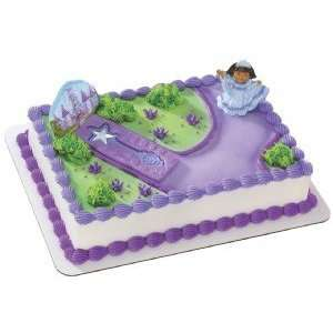 Dora Explorer Princess & Scepter Cake Topper Toys & Games
