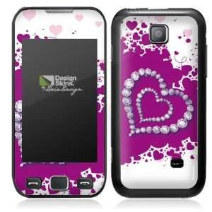Design Skins for Samsung 533 Wave   Diamond Heart Design