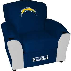 San Diego Chargers Stationary Sideline Chair Sports