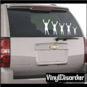Family Decal Set Sports Boxing 02 Stick People Car or Wall Vinyl Decal