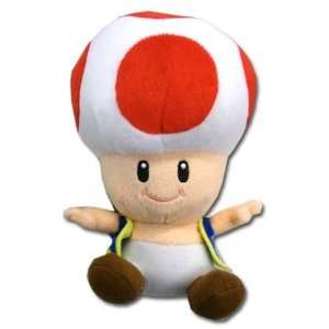 Nintendo Super Mario Bros. Toad Plush Toys & Games
