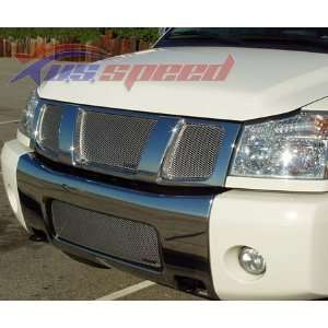 2004 07 Nissan Armada / Titan GrillCraft Mesh Grille 3PC