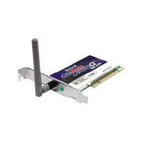 D Link DWL G520 Wireless PCI Adapter, 802.11g, 108Mbps