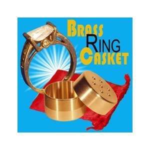 Brass Ring Casket   Import   General Street Magic Toys & Games