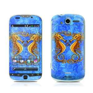 Sea Horses Protector Skin Decal Sticker for HTC My Touch 4G Cell Phone