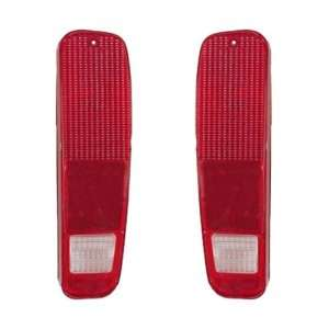 NEW 78 79 Ford Bronco Taillight Taillamp Lens Pair