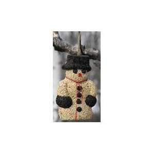 SNOW MAN WREATH, Size 1.8 POUND (Catalog Category Wild Bird Food