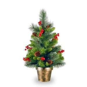 Crestwood Spruce Full Unlit Christmas Tree Christmas Decor