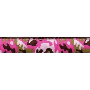 Up Country Pink Camo Dog Collar 1 Large