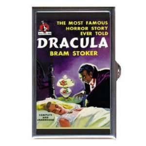 BRAM STOKER DRACULA VAMPIRE Coin, Mint or Pill Box Made in USA